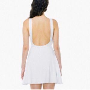 American Apparel Skater Dress | White